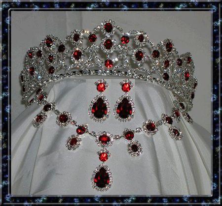 Empress Josephine's ruby parure