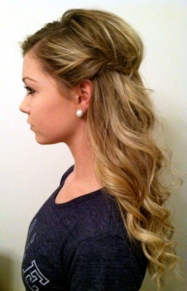 @bailliesh @hbasinger @mbenn17 @kaileyem any feels about this for bridesmaid hair? Yall don't have to be matchy or anything but I was thinking you would all look good with it half up, and we could just do each other's...