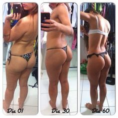 Transformation to a fit body and squats bum