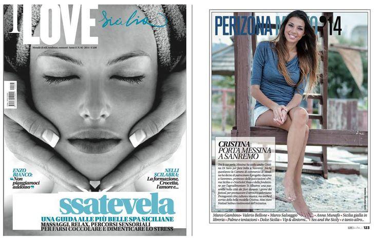 """Sul nuovo numero di """"I Love Sicilia"""" trovate un articolo dedicato alla bellissima Cristina Di Siero, Miss Sportiva Sicilia 2013 e alla sua partecipazione come madrina all'ultimo festival di Sanremo. Ad accompagnare l'articolo, una mia foto, scattata alla miss qualche mese fa durante una breve […]"""