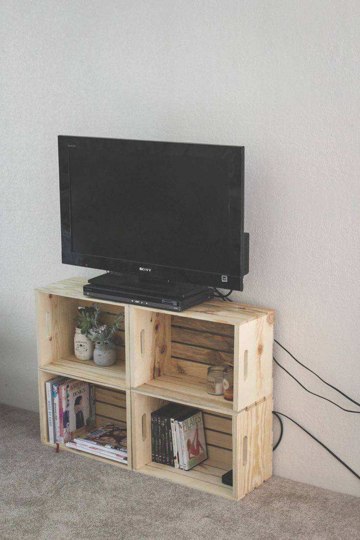 Affordable DIY TV Stand Ideas for Your Home #tvstandmakeoverideas