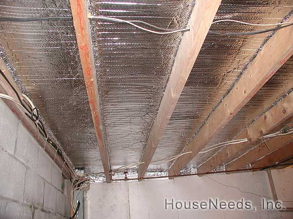 Radiant Floor Foil Insulation Radiant Floor Underfloor
