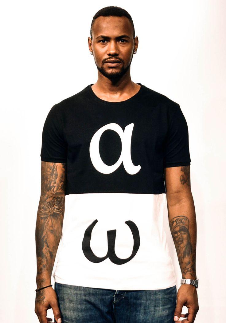 Alfa Omega - The Duality of Life #duality #tshirts #playshirts #alfa #omega #blackandwhite #prints #fashion #street #wear #mens #clothing #pop #art