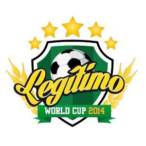 Logo do Legítimo Bar para a Copa do Mundo 2014