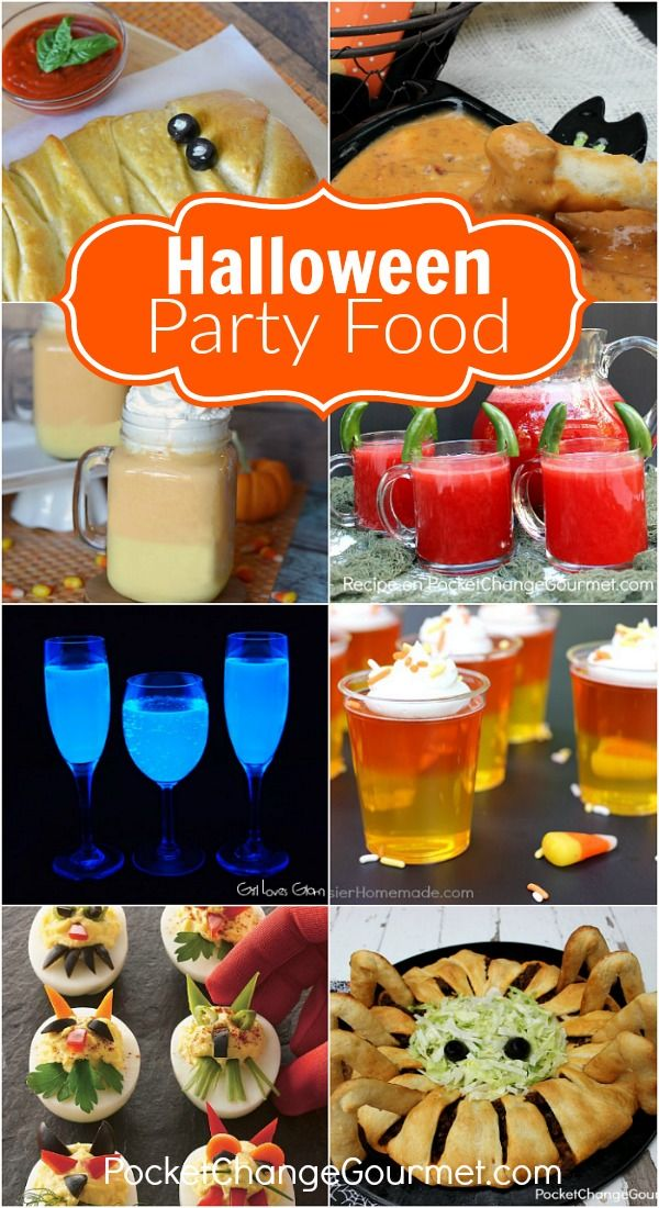 36 best images about halloween food ideas on pinterest for Party food and drink ideas