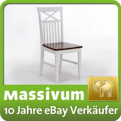 25+ ide Holzstuhl weiß terbaik di Pinterest Esstisch holz weiß - küchenstuhl weiß holz