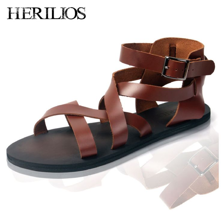 2013 Summer New England Roman sandals fashion tide male Korean men's casual  leather men leather sandals