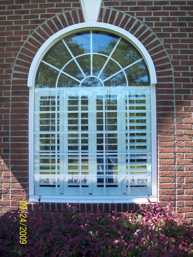 Cover A Half Round Window With Clear Lexan Hurricane