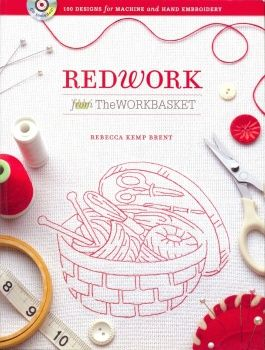 手机壳定制free tote bags Redwork from The WORKBASKET