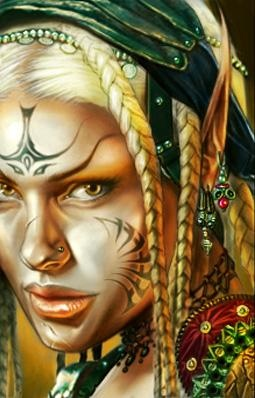 Holy shit I remember this artwork from Neverwinter Nights 2. Oh I miss that game... Anyone know who the artist is?