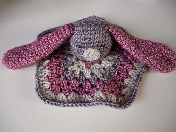 Renske Creatief: Gratis patroon konijnenknuffeldoekje
