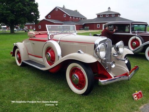 1931 Studebaker President Four-Seasons Roadster