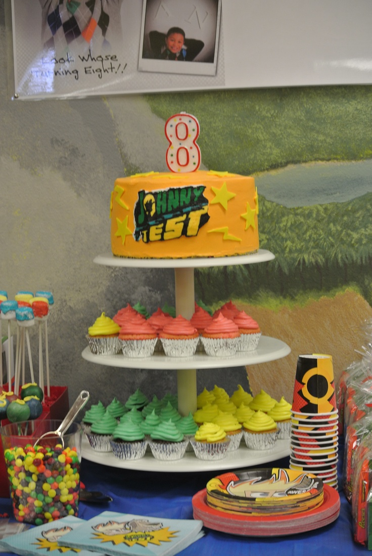 23 best Johnny Test Birthday Party Ideas Decorations and