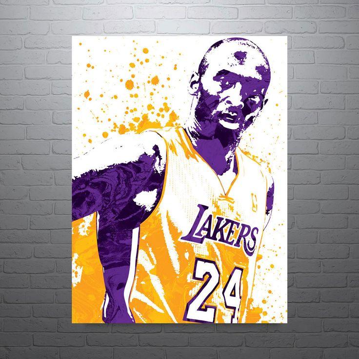 Kobe Bryant Los Angeles Lakers Poster