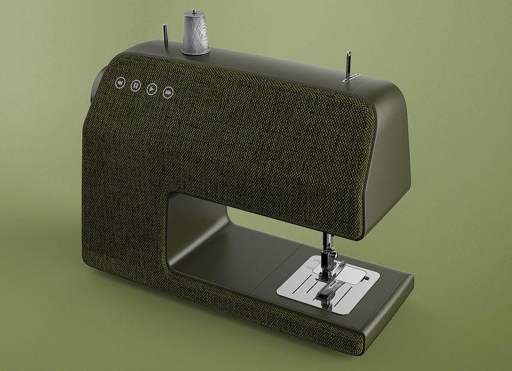 Lappland_vifa sewing machine on Behance