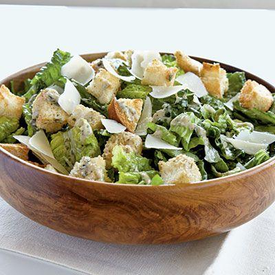Pesto Caesar Salad   CookingLight.com