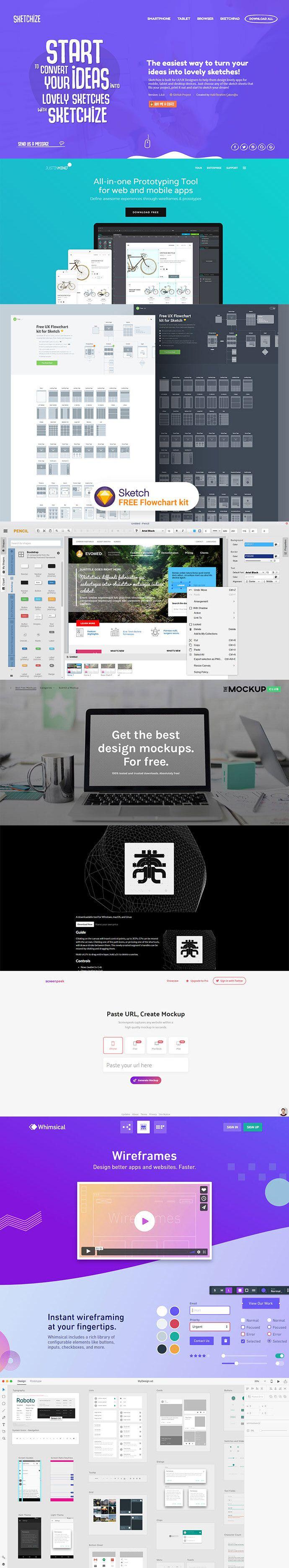 25 Best Free Design Tools For Wireframe Mockup Prototype Design Mockup Free Tool Design Interface Design