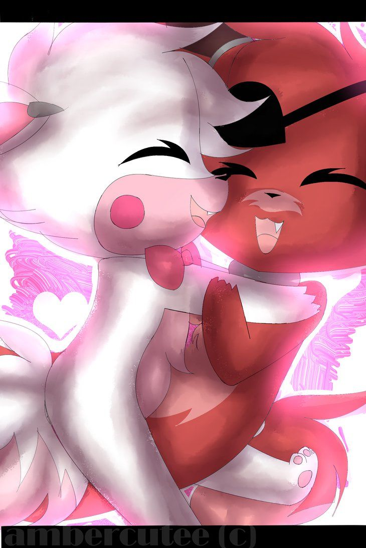 Toy chica x fem mangle preview undertale plans by red - Five Nights At Freddy S Foxy And Mangle