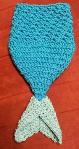 Mermaid Photo Prop /  FREE pattern Sizes for baby, newborn, and  preemie