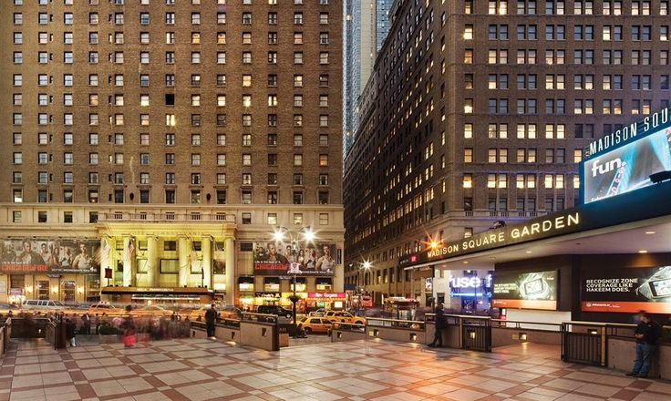 Hotel Pennsylvania is centrally located in New York, steps from Penn Plaza Pavilion and Madison Square Garden. This family-friendly hotel is close to Macy's and Empire State Building.  http://www.lowestroomrates.com/New-York-Hotels/Hotel-Pennsylvania.html?m=p #NYC