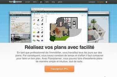 Logiciel plan maison gratuit de pro Floor Planner