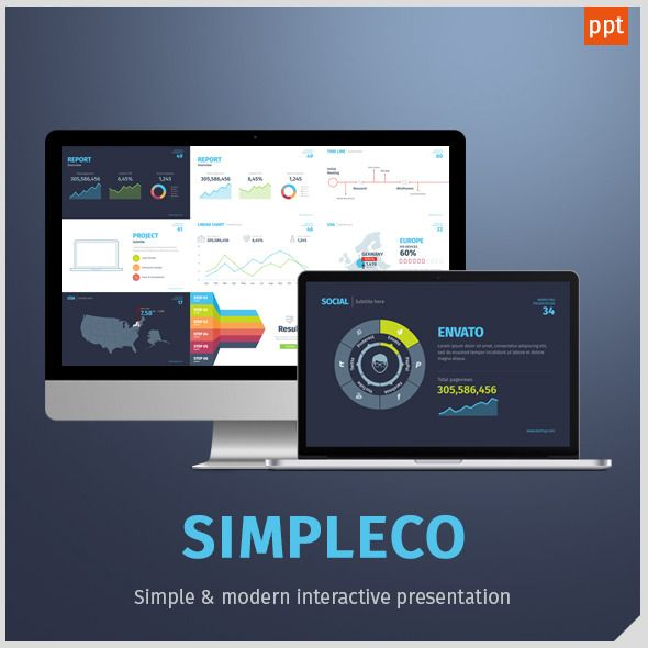 SIMPLECO Simple Powerpoint Template
