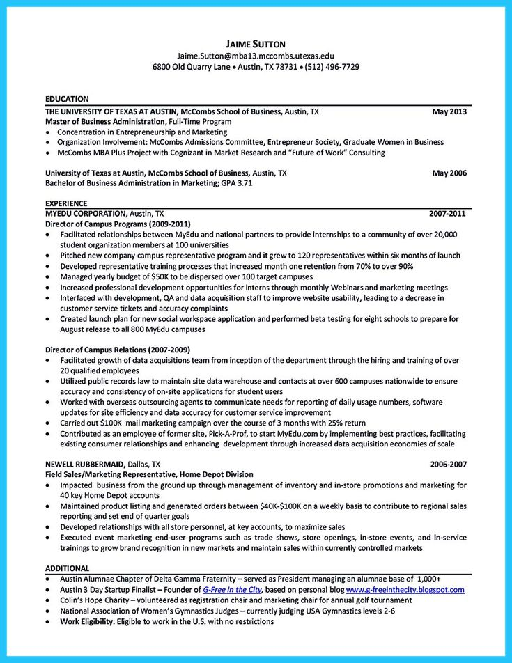 What is your purpose in making business school resume? It should - school bus driver resume sample