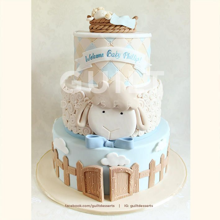 Baby Lamb - Cake by guiltdesserts