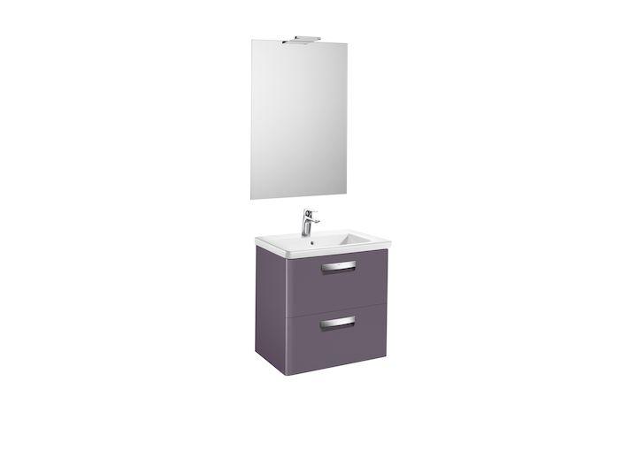 Pack (mueble base, lavabo, espejo y aplique LED) | The Gap | Colecciones de baño | Colecciones | Roca