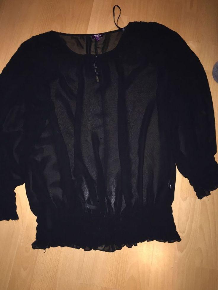 Inspire New Look Sz 24 Sheer Chiffon Style Black Top Gypsy Boho Christmas    eBay