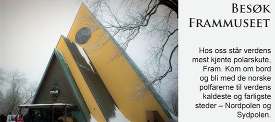 Fram Museet - Lær om polarheltene / The Fram Museum - Learn about the polar explorers