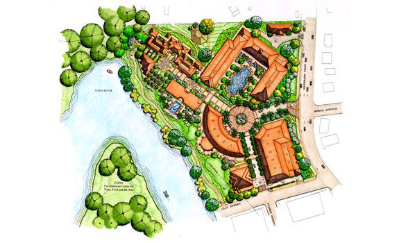 Spa resort master plan google urbanism urban - Hotel design planning and development ebook ...