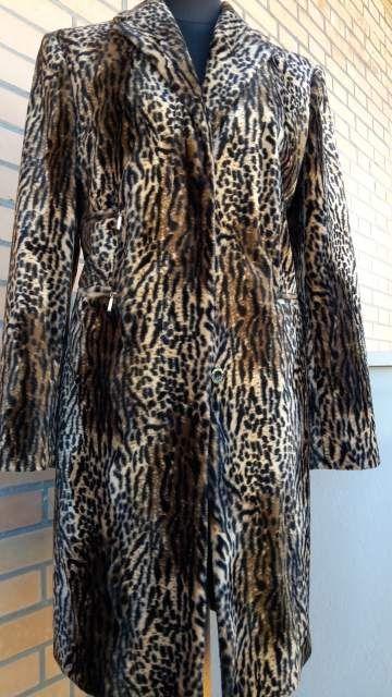 Cappotto Richmond pelliccia eco tg 42