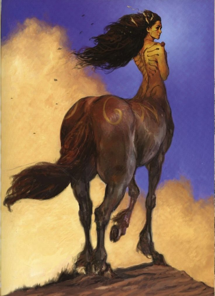 The last centaur gave Mica directions on how to kill Saourn. He must die by the only thing Darker that he. Himself.
