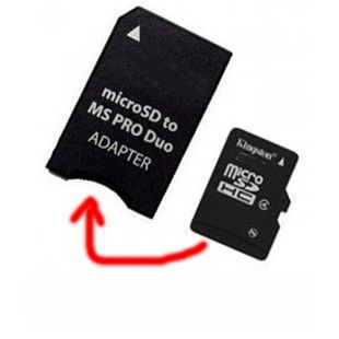 Micro SD Adapter Memory Stick Camera Accessories Adapter to MS Card Converter Card Case MS Pro Duo Adapter