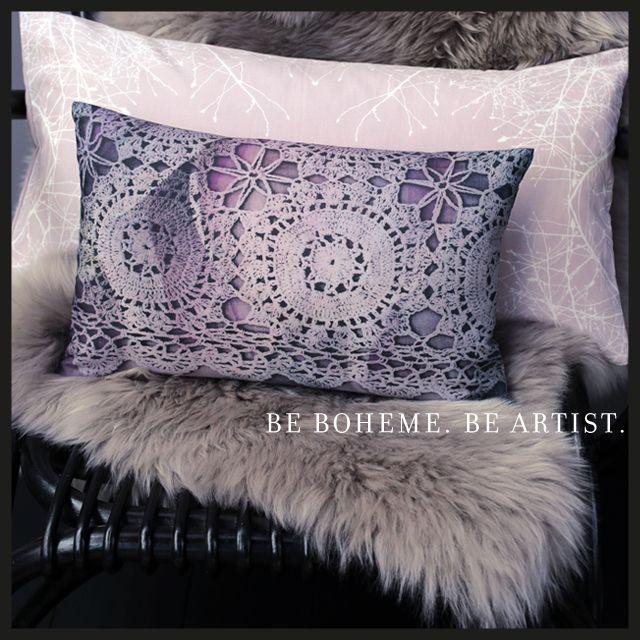 Coussins Bohème Monsieur & Madame Bohème Mélange harmonieux de couleurs subtiles et matière noble  Boho Home sensuel et ultratendance  Be Artist. Be Boheme. Enjoy !