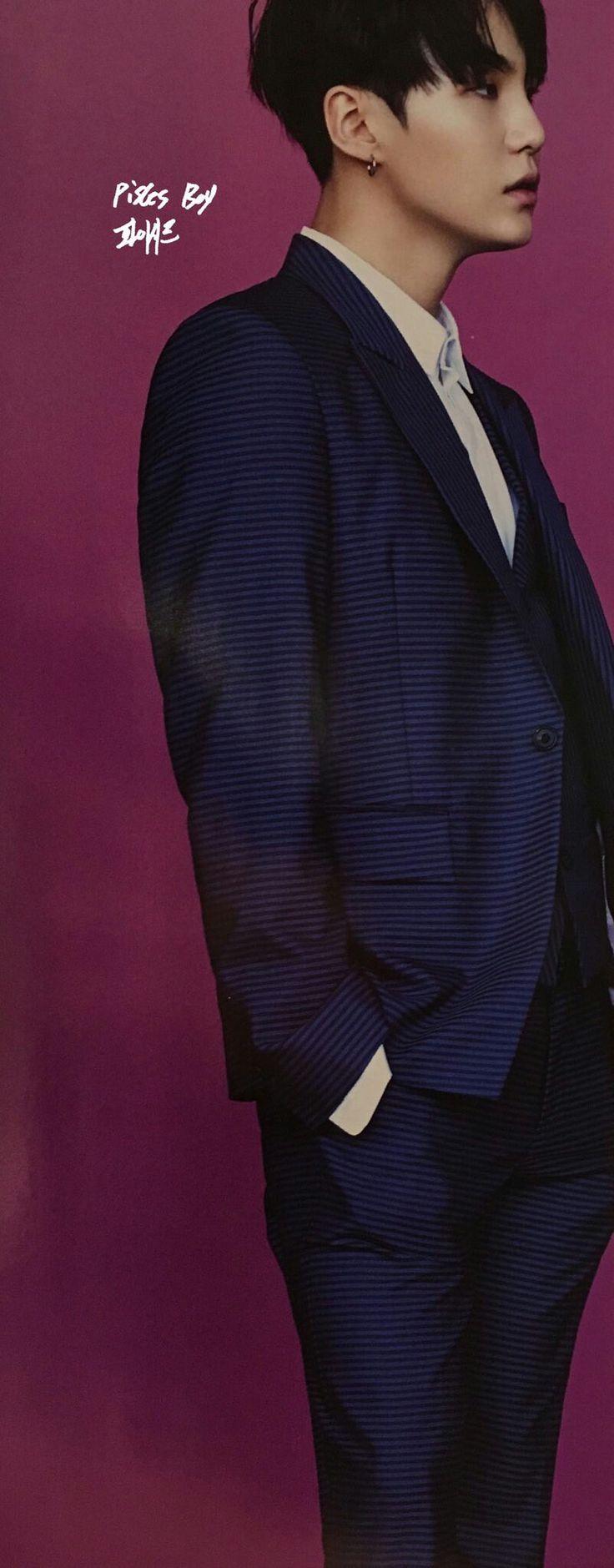 Suga ❤ BTS for Singles Magazine January 2017 Issue #BTS #방탄소년단