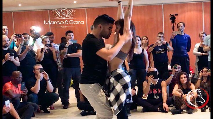 clases y figuras de bachata 2017 / workshop Marco & Sara / Paris Bachata Festival - YouTube