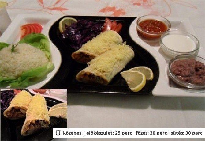 Enchiladas De Pollo y Salsa