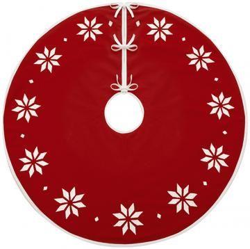 Martha Stewart Living™ Nordic Snowflake Tree Skirt HDC