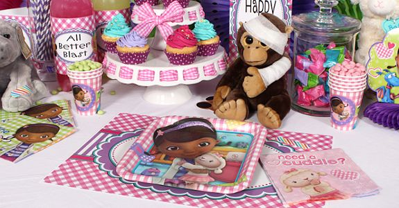 doc mcstuffins party supplies | Doc McStuffins Party Supplies, FREE shipping offer, 50% off tableware ...