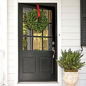 456 best crafts wreaths winter christmas images on for Back door entrance
