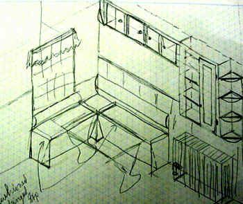 step by step instructions for banquette seating