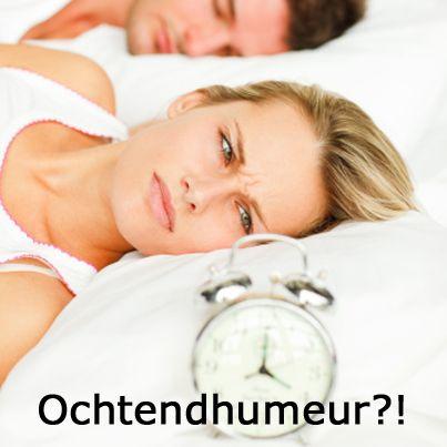 Absoluut geen ochtendmens? Zes tips om het humeur in de vroege uren een handje te helpen: http://www.gezondheidsnet.nl/slaap-lekker/artikelen/2832/ochtendhumeur-dit-helpt