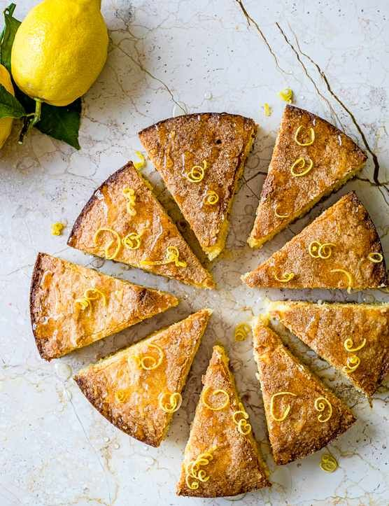 Almond and Amalfi lemon cake Give our Italian almond and Amalfi lemon cake a go. The Amalfi lemons have a strong intense lemony aroma, and are slightly sweeter. This light summery cake is seriously moreish, a real crowd pleaser