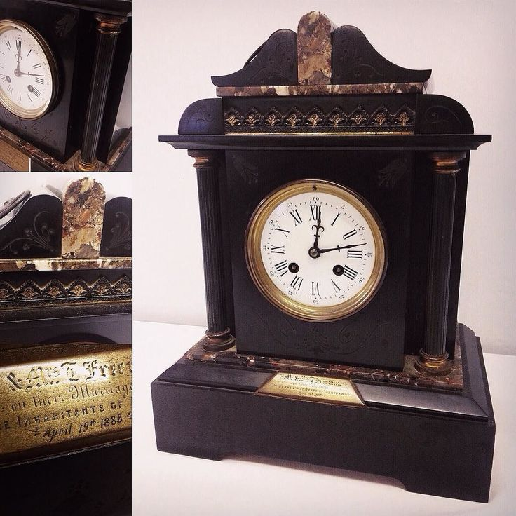 #Victorian #French #marble mantle #clock in for our #Antiques #Collectables #Interiors & #VintageToys #auction next Weds. Catalogue to go online this Sat at townsend-auctions.co.uk  #clocks #mantleclock #marbleclock #antiqueclock