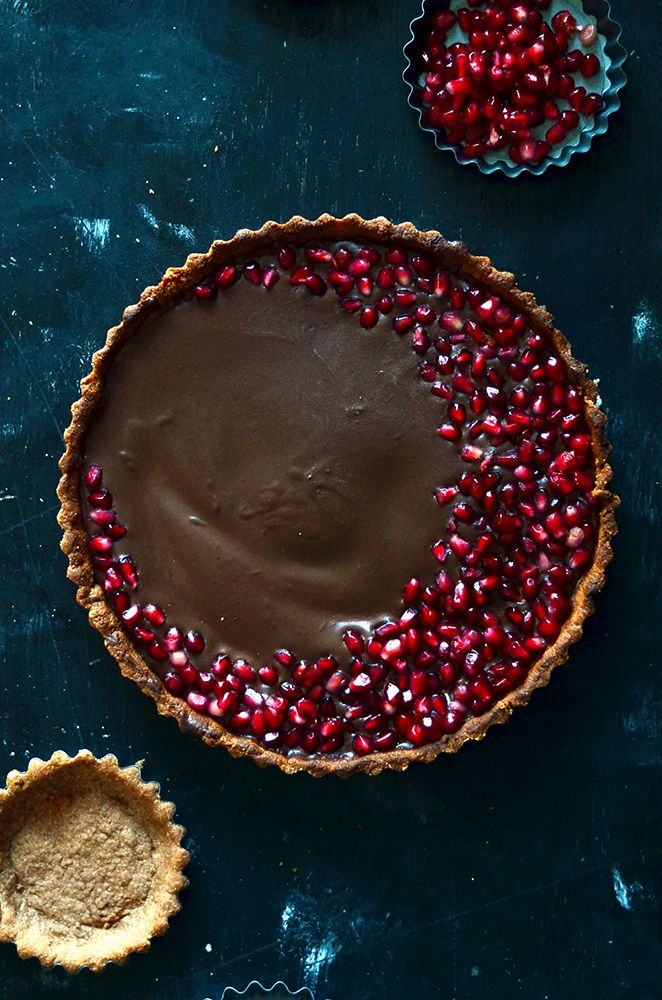Vegan Double Chocolate Silk Pie   The Hungry Herbivores
