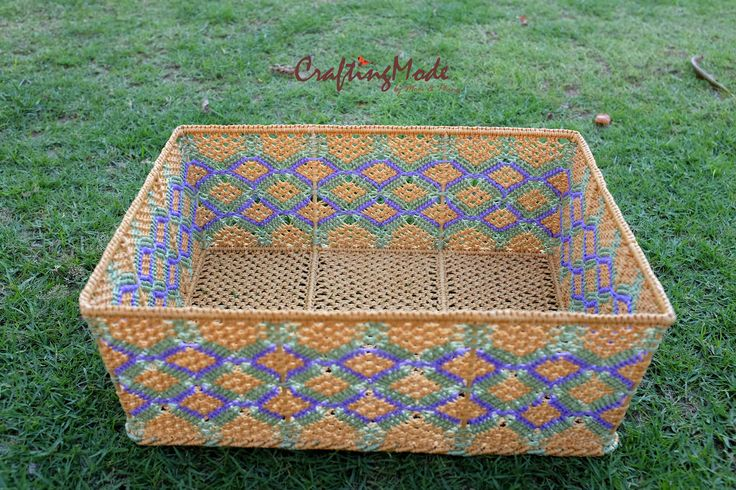 Made to order #bigbasket #macrame #basket #easter #etsy #CraftingMode #handmade