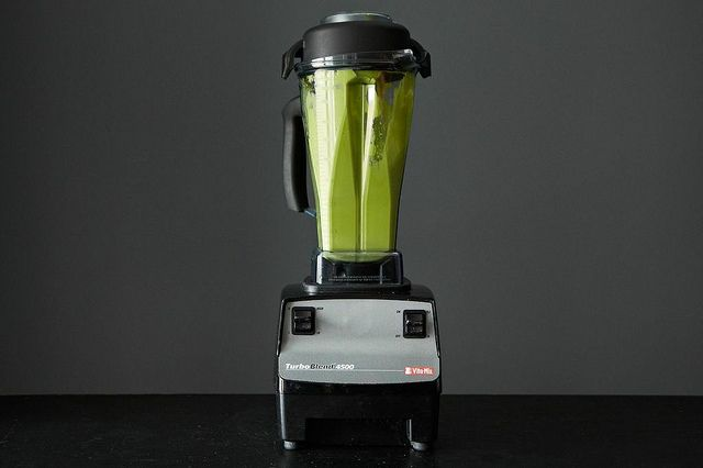 Fifty Shades of Green -  1 cup fruit (bananas, berries, etc.) 1 cup leafy greens Liquid base (almond milk, coconut water, juice) Something for creaminess: almond butter, cashews, avocado, etc.