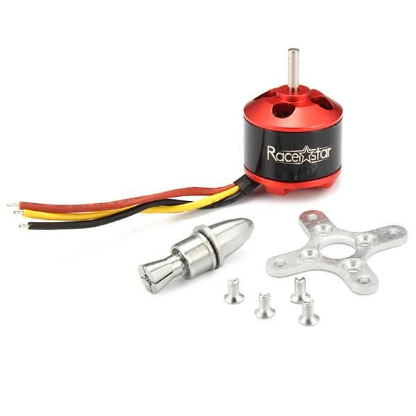 Racerstar BR2212 1400KV 2-4S Brushless Motor For RC Models        Description: Brand Name: Racerstar Item Name: BR2212 brushless motor KV: 1400 Operating Voltage: 2-4S Weight: 52g Recommended Prop: 9050 Testing Data:     Model  Voltage  Prop  Load...